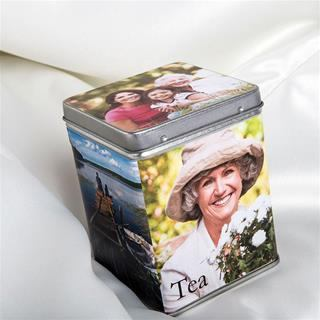 customised tea caddy