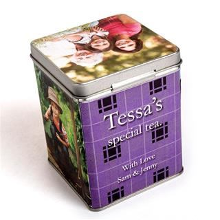 Personalised Tea Caddy