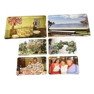 Foto dienblad bedrukt met je afbeeldingen en tekst tray - Gepersonaliseerde keuken ...