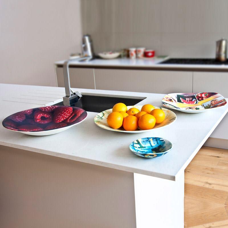 Piatti personalizzati da frutta stampa su piatti - Piatti di frutta decorati ...