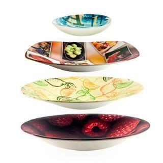 piatti decorativi con foto