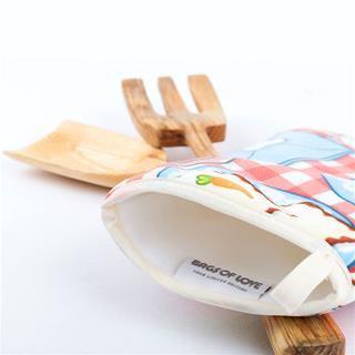 guantes de cocina personalizados etiqueta