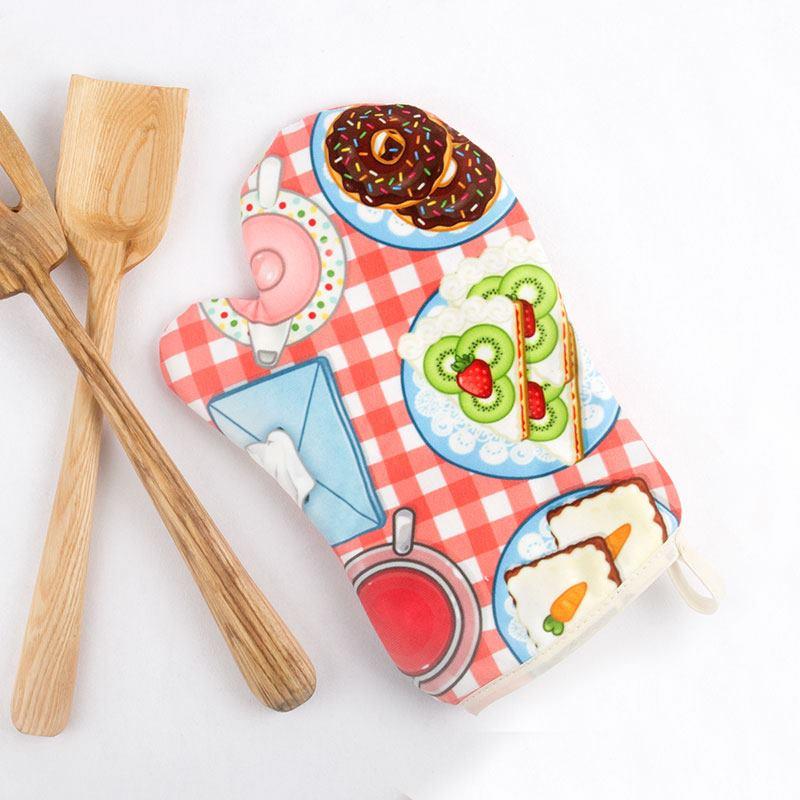 Guanti da forno personalizzati foto regali originali - Guanti da cucina ...