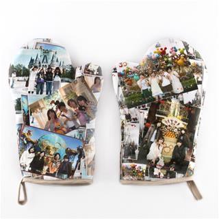 guantes de cocina personalizados impresos