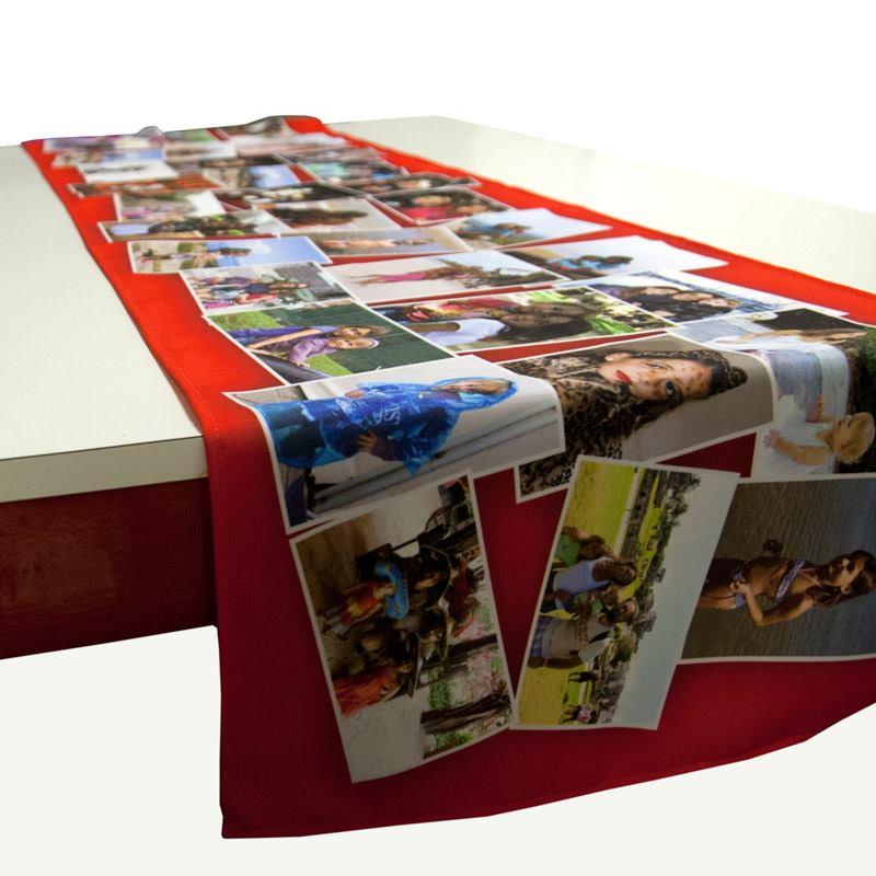 chemin de table personnalis chemin de table photo. Black Bedroom Furniture Sets. Home Design Ideas