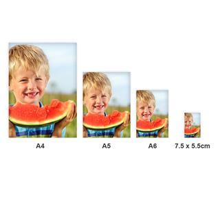 taille des magnets photos