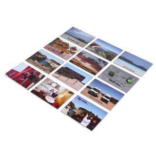 custom printed fridge photo magnets