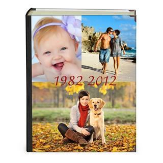 baby photo albums UK portrait