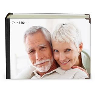 personalised photo album cover landscape