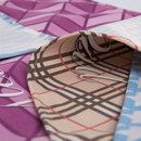 fabric placemat with text