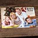 personalised Christmas placemat
