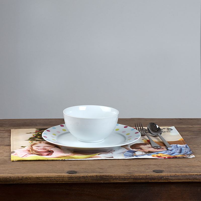 fabric placemats personalised placemat gifts with photos