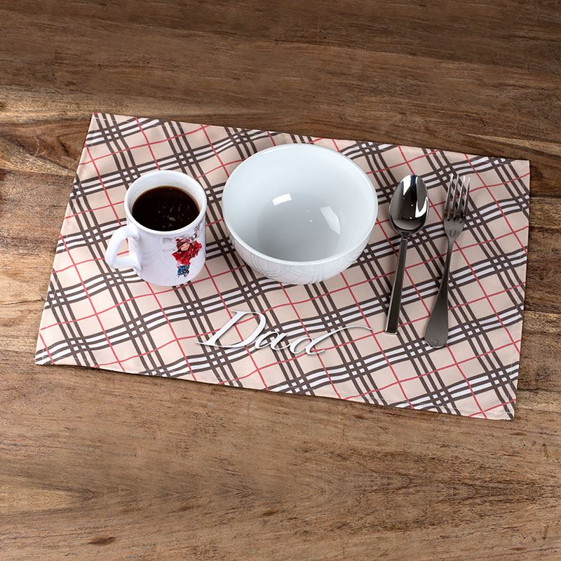 Fabric placemats uk personalised placemat gifts with photos for Table mats design your own