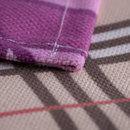 Unique fabric purple placemat