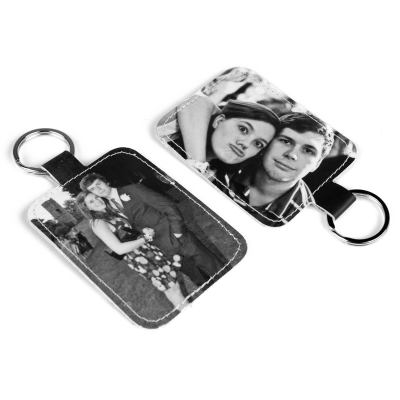 Me & You Leather Keyring