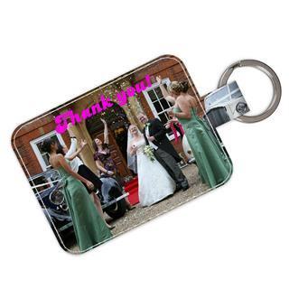 Porte-clés personnalisable avec photo