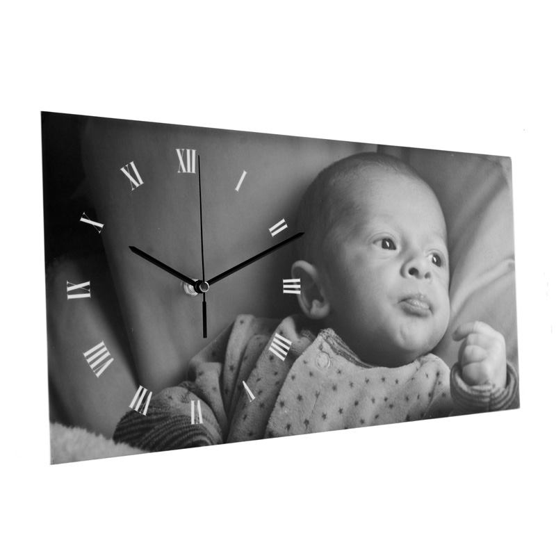 Custom Photo Clock Personalised With Your Design By