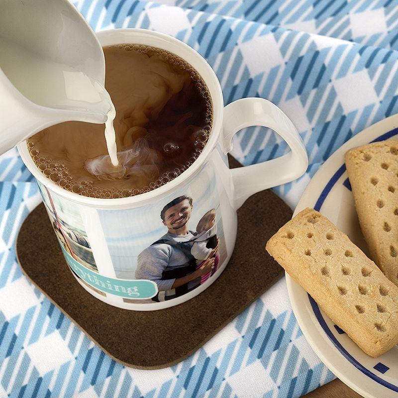 Tazas de porcelana personalizadas lista en 24h oferta 2x1 for Tazas para desayuno
