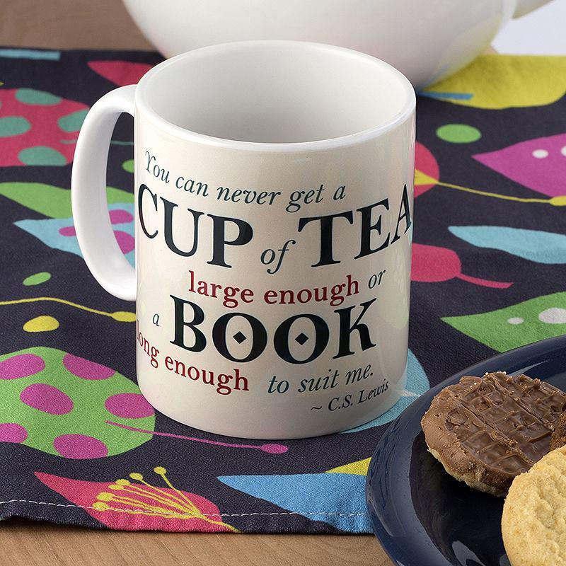 china mug with personalised text