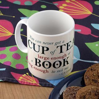 personalised tea mug with design