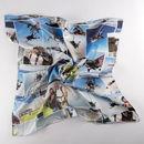 bandana per cani con collage