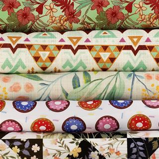 print fabric samples