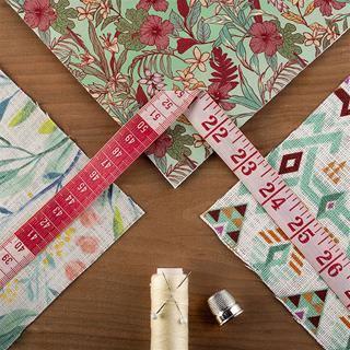 échantillons de tissu imprimés motifs