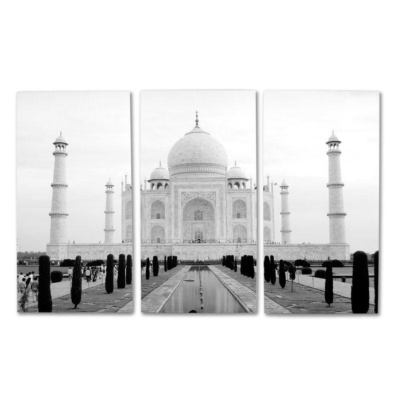 3枚組キャンバス 写真