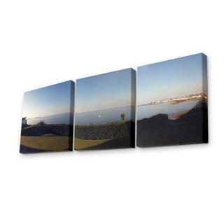 Lienzo triptico impreso con fotos