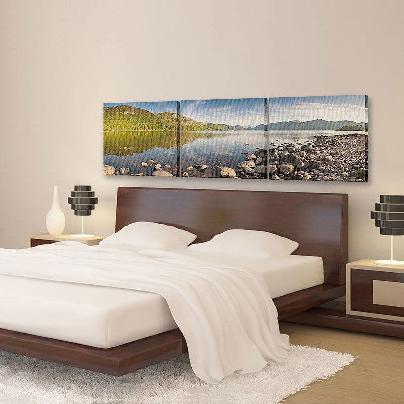 ... 3 Piece Canvas Art For Bedroom ...