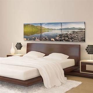 Lienzo triptico personalizado para habitacion