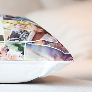 photo cushion personalised detail
