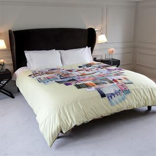 printed duvet covers with photo collage