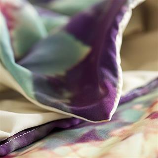detail corner stitching personalised bedding