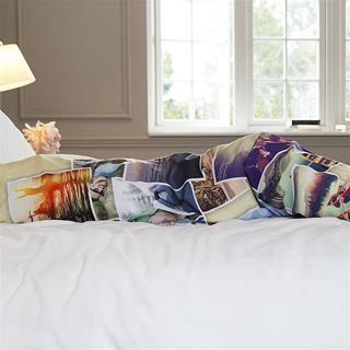 personliga sängkläder med foto