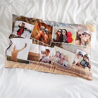 memory photo pillow case