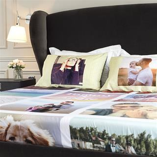 personalised pillow cases with matching duvet