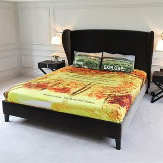 Sabanas personalizadas con almohadas a juego
