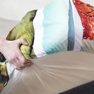 stampa lenzuola con angoli