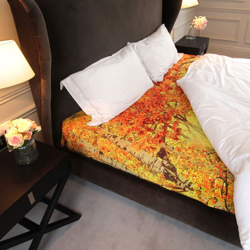 Personalised bed sheets design your own bedding online for Design your own bed