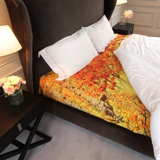 personalised bed sheets with quilt and pillows