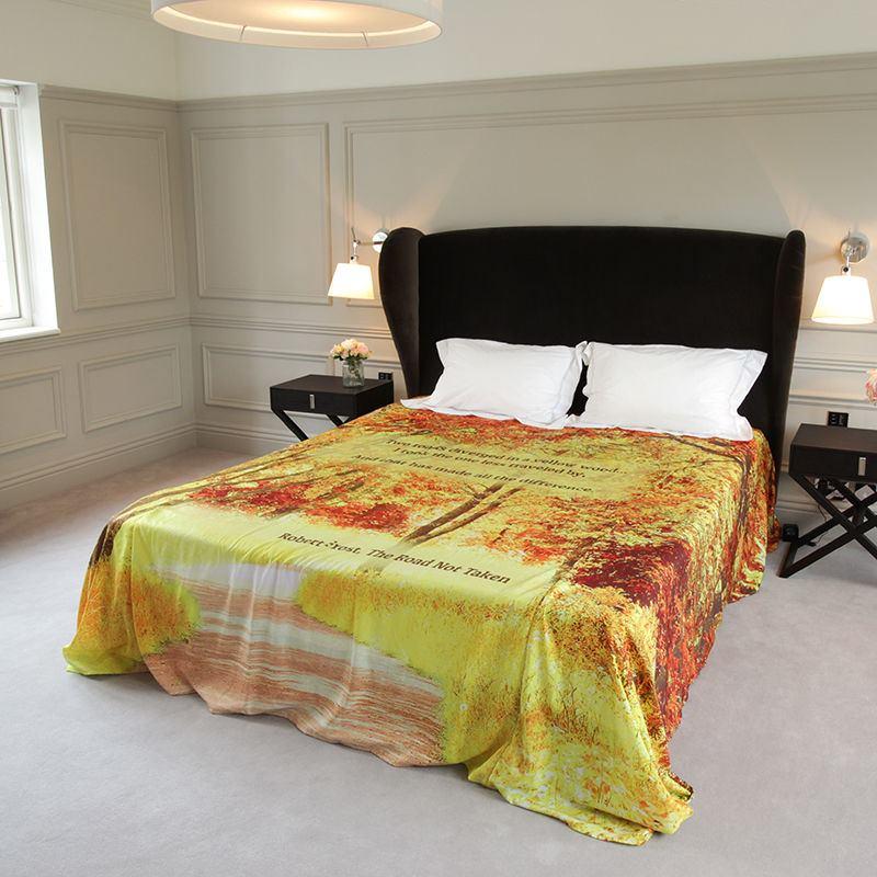 Drap personnalis vos photos sur une parure de lit personnalisable - Parure de lit personnalise ...