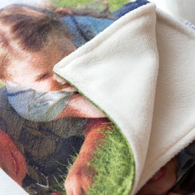 mantas polares para bebés personalizadas