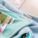 Personalised blankets with labels