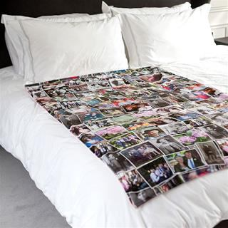 Custom Photo Blanket Collage