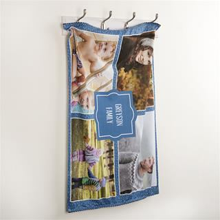 Personalise photo template tea towels