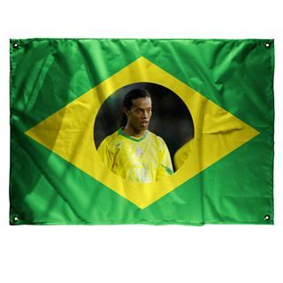 brazil flag with photo