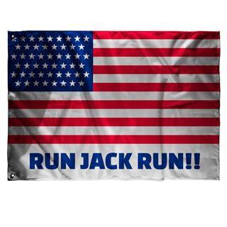 drapeau personnalisé Etats-Unis texte