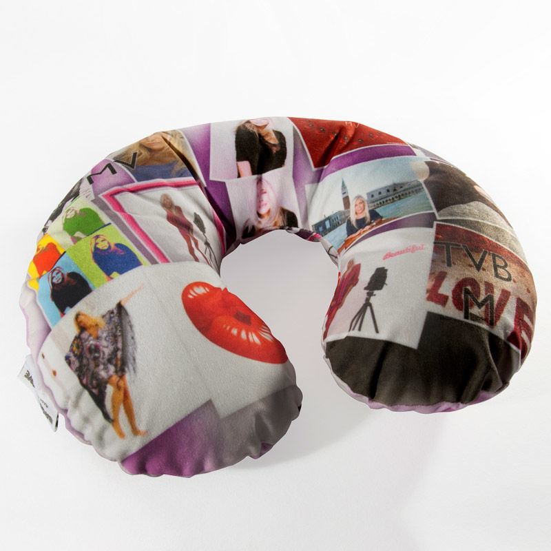Custom Travel Neck Pillow Personalized Travel Pillow