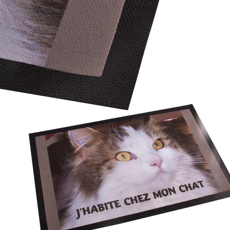 Paillasson personnalis vos photos sur un tapis d 39 entr e - Tapis pour couloir d entree ...